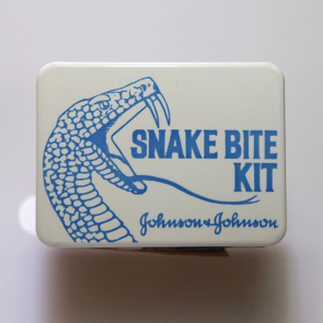 Johnson & Johnson 1964 Snake Bite Kit First Aid Kit