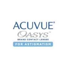Acuvue Oasys brand contact lenses for astigmatism