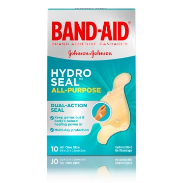 BAND-AID® Brand HYDRO SEAL™ adhesive bandage