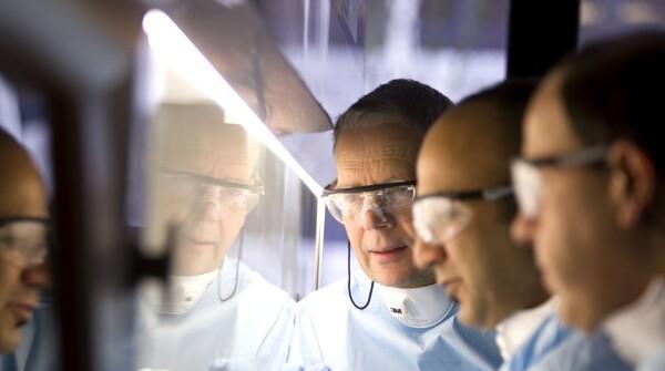 Three Janssen researchers