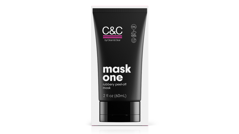 C&C by Clean & Clear Mask One Rubbery Peel-Off Mask