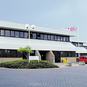 J&J's administration office in Leeds