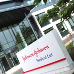 A photo of the Johnson & Johnson Medical Ltd office in the U.K.