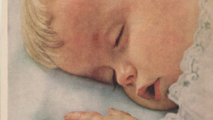 9 Adorable Vintage Johnson & Johnson Baby Ads