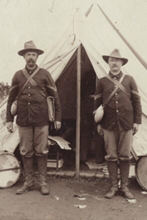 Johnson & Johnson employee serving in Spanish-American War
