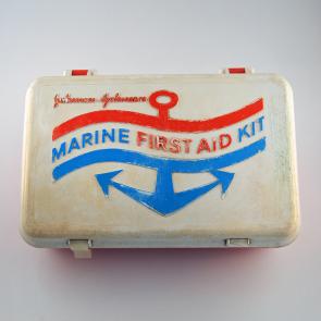 Johnson & Johnson 1973 Marine First Aid Kit