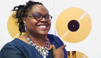 Valarie Tucker at the National Museum of African American History and Culture