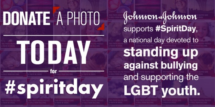 JNJ Supports Spirit Day