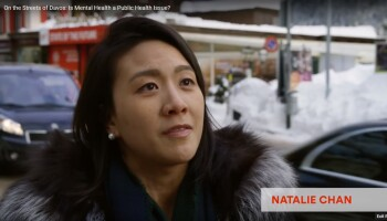 On the Streets of Davos: Is Mental Health a Public Health Issue?