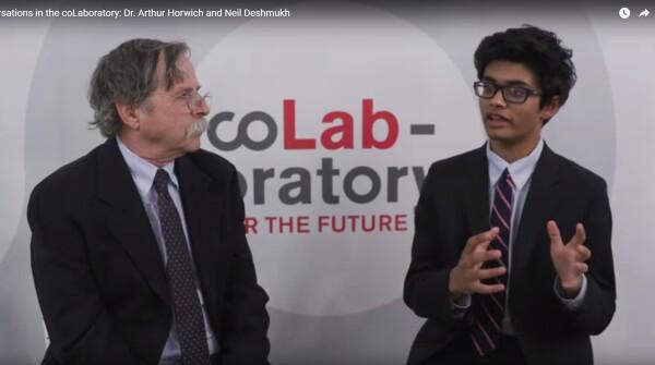 Conversations in the coLaboratory: Dr. Arthur Horwich and Neil Deshmukh