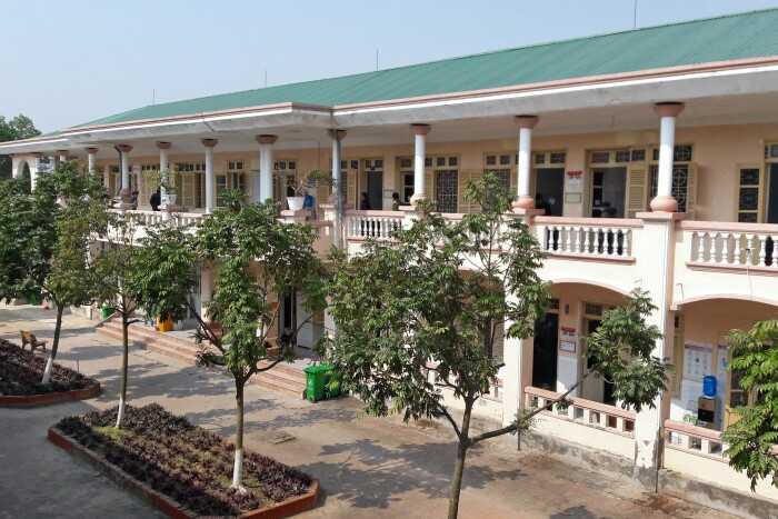 The Nghe An Provincial Tuberculosis and Lung Disease Hospital in Vietnam