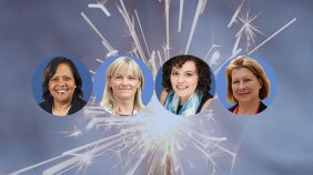 Johnson & Johnson Re-Ignite participants Monica Cotton Rozelle, Susan Shalloe, Heather Knox and Joella Flood