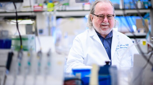 Dr. James Allison, winner of the 2018 Dr. Paul Janssen Award for Biomedical Research