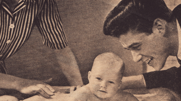 Vintage Johnson's® Baby Lotion Advertisement from 1944