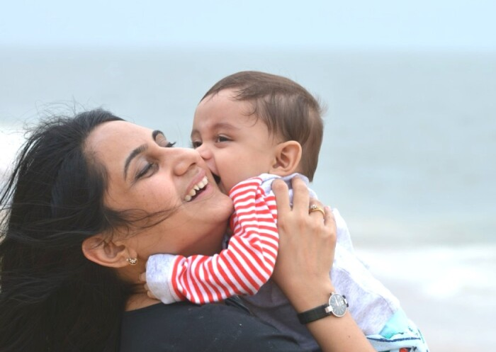 Rachana Acharya, Who's Based in India, Took Advantage of Johnson & Johnson's Parental Leave Benefits to Spend More Precious Time With Her Son, Ved, After He Was Born
