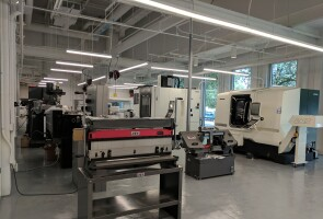 Interior shot of Center for Device Innovation at Texas Medical Center