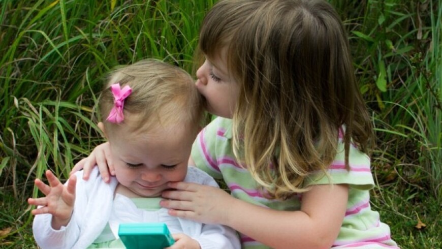 preparing a sibling for a new baby