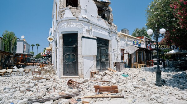 Johnson & Johnson customer service mobilized quickly in the aftermath of the 2017 Kos, Greece, earthquake