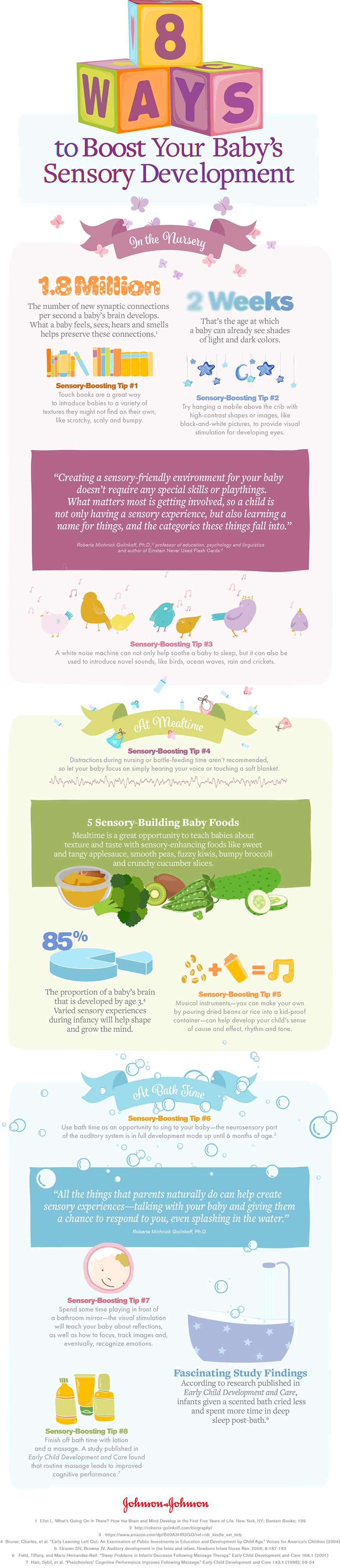 8 Ways to Boost Your Baby's Sensory Development