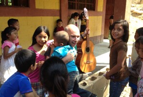 Reinhard Juraschek on one of his trips to Guatemala