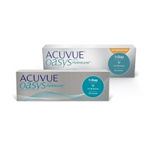 pack shot of acuvue vision care products