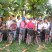 Young schoolgirls and members of Girl Up and UNFPA at a bike distribution in Guatemala