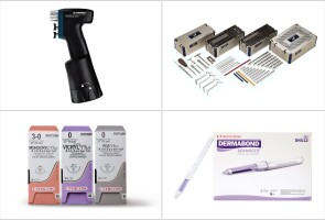 A drill, plates and screws, topical skin adhesive, and sutures donated by Ethicon and DePuy Synthes for Nora's surgery
