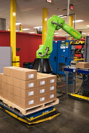 New supply chain technology at Johnson & Johnson includes a collaborative robot