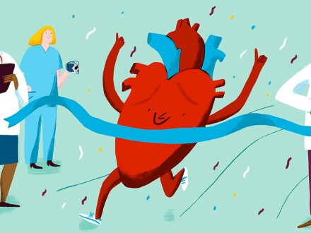 Heart health graphic