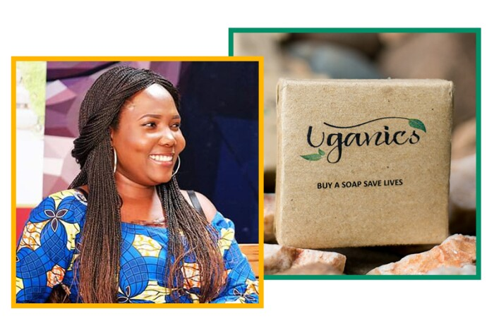 Joan Nalubega, founder of Uganics