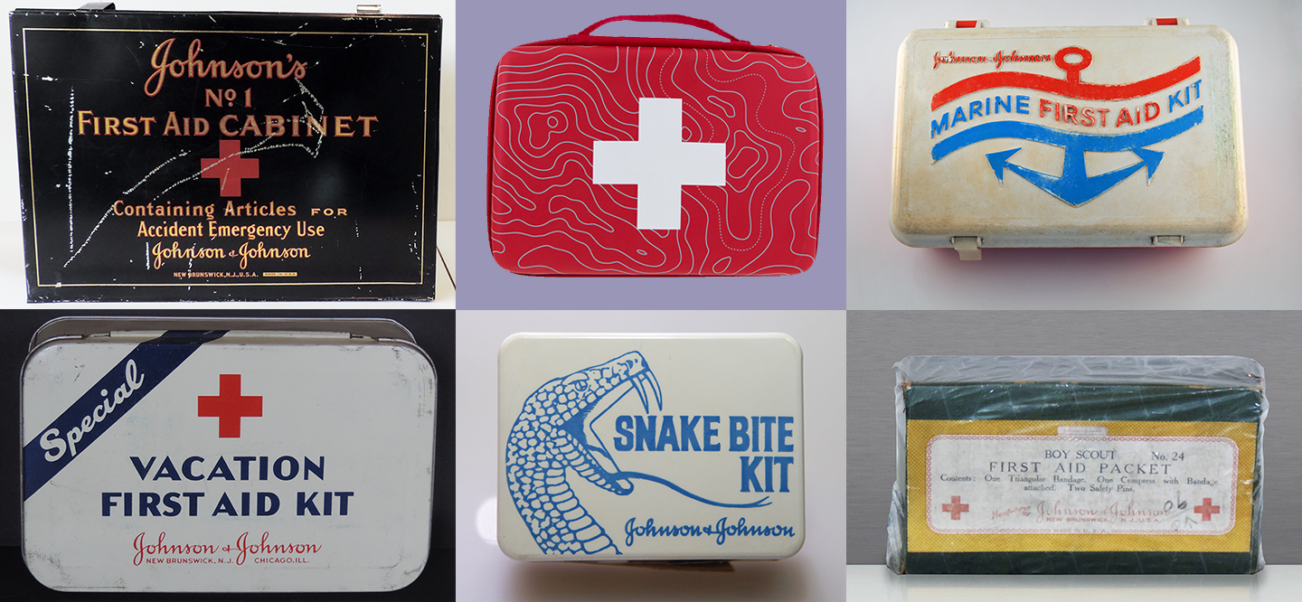 First Aid Kit History 12 Vintage First Aid Kits By Johnson Johnson