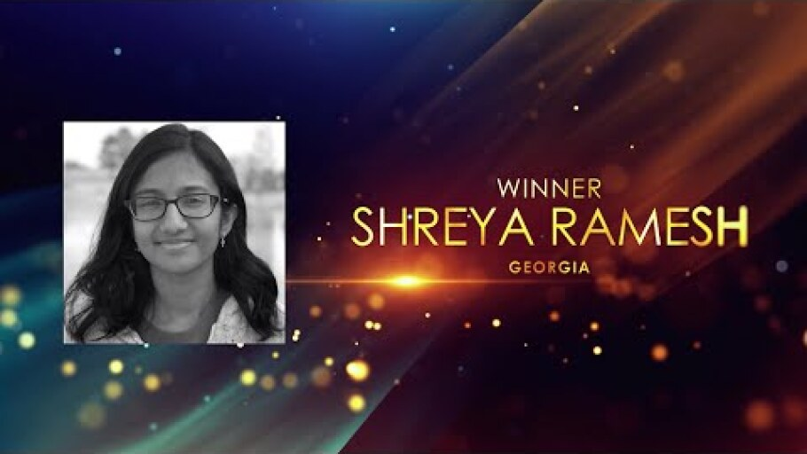 Shreya Ramesh Named 2020 International BioGENEius Challenge Winner