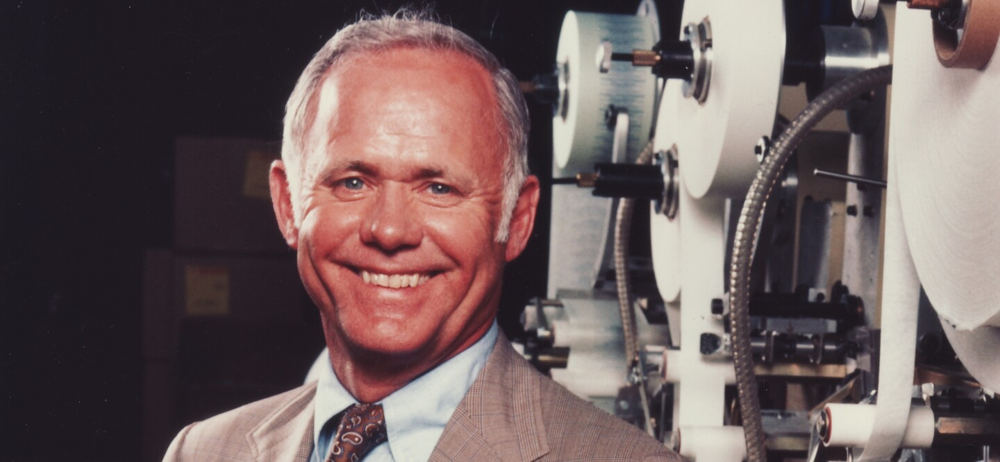 Former Johnson & Johnson Chairman and CEO James E. Burke