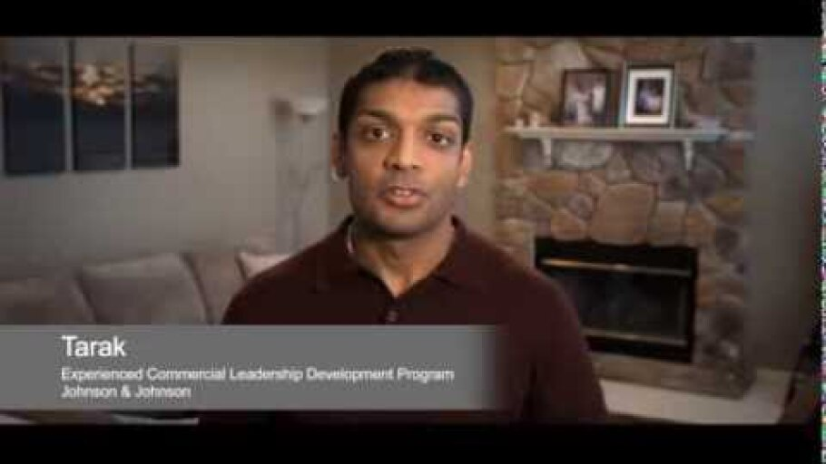 Tarak talks about his experience in the EC Leadership Development Program