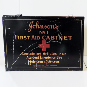 Johnson & Johnson 1920 No. 1 First Aid Cabinet First Aid Kit