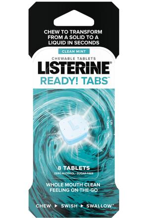 Listerine® Ready! Tabs™