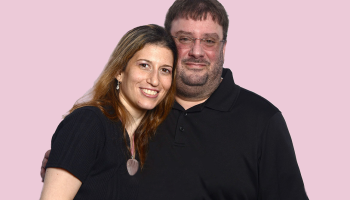 Marisa Troy and Frank Garufi