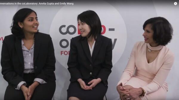 Conversations in the coLaboratory: Anvita Gupta and Emily Wang