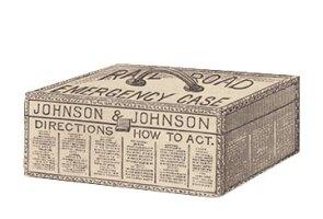 Johnson & Johnson's 1888 Railroad Emergency Case