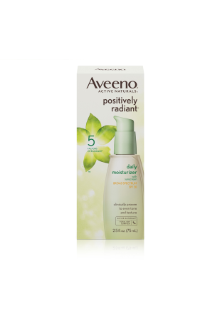 Aveeno® Positively Radiant® Daily Moisturizer Broad Spectrum SPF 30