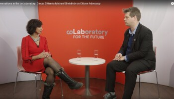 Conversations in the coLaboratory: Global Citizen's Michael Sheldrick on Citizen Advocacy