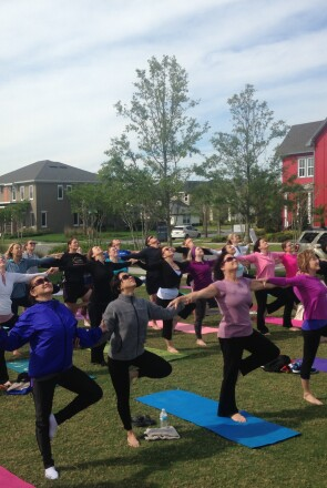 Lake Nona Life Project: Yoga in the Park