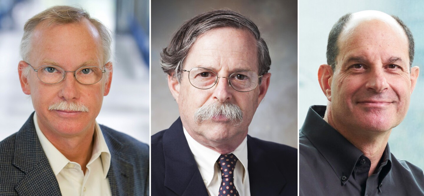 Winners of Dr. Paul Janssen Award go on to win Breakthrough Prize in Life Sciences (left to right: Dr. Franz-Ulrich Hartl, Dr. Arthur Horwich, Dr. David Julius)