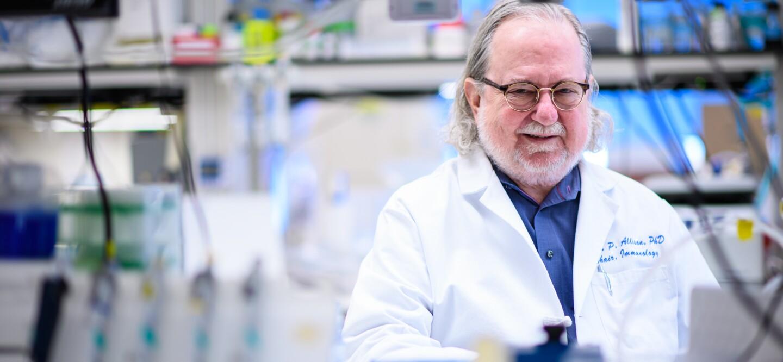 Dr. James Allison, winner of the 2018 Dr. Paul Janssen Award for Biomedical Research
