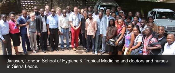 Janssen, London School of Hygiene & Tropical Medicine