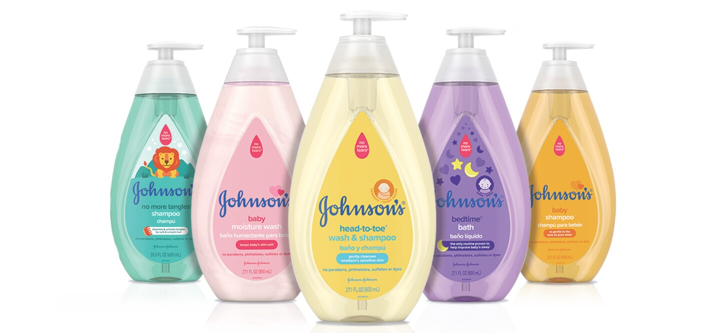 Johnson & Johnson's pharmaceuticals business helped drive sales growth at the company for the latest quarter, but the health-products giant's U.S. consumer business continued to struggle.
