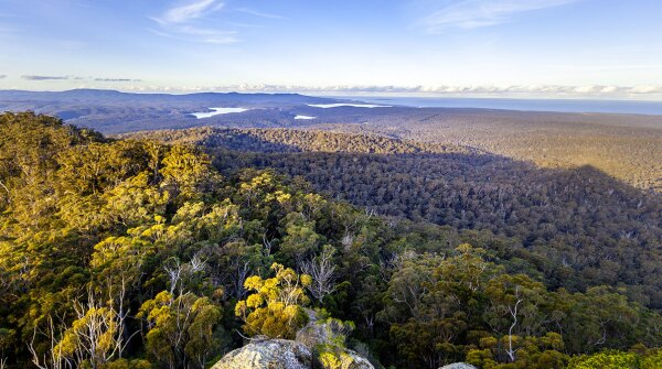 Croajingolong National Park, which has been affected by the Australia bushfires