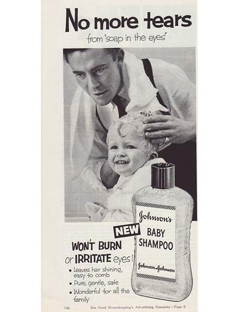 9 Adorable Vintage Johnson & Johnson Baby Ads